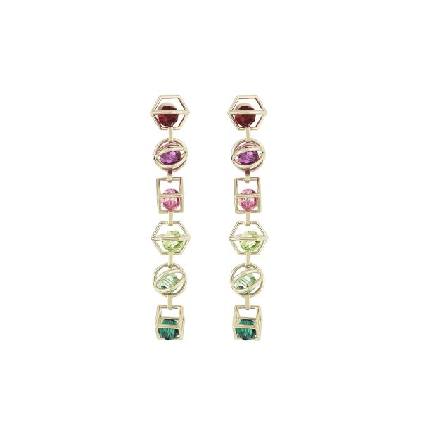 Nostalgia Duster Earrings by Atelier Swarovski