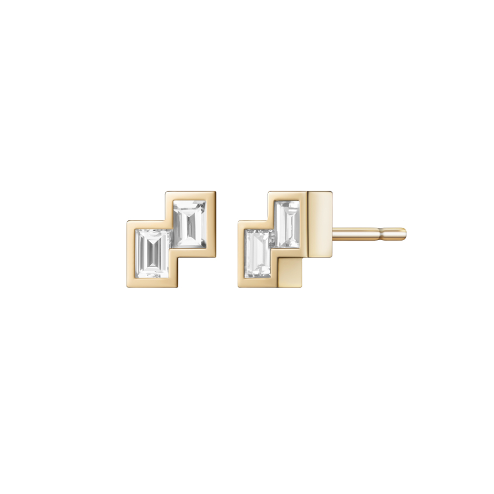 Alana Earrings by Selin Kent
