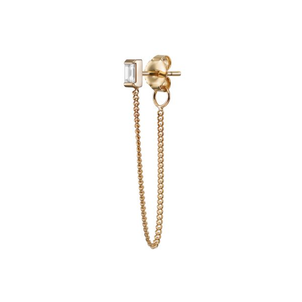 Gaia Stud with Chain by Selin Kent