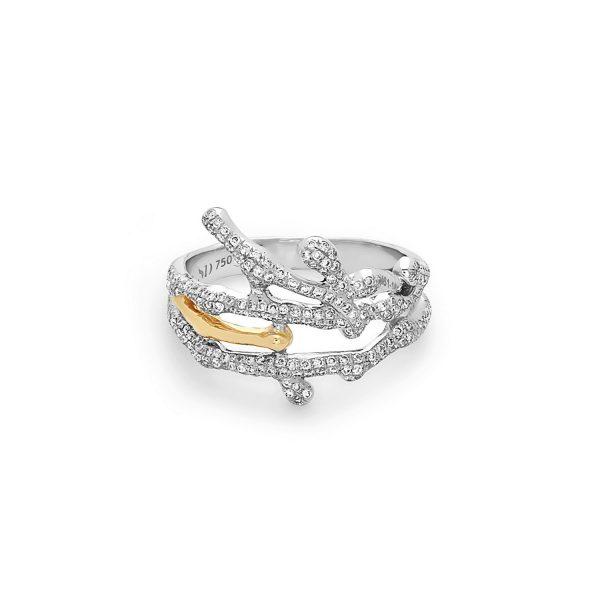 Small Splatter Ring by Swati Dhanak