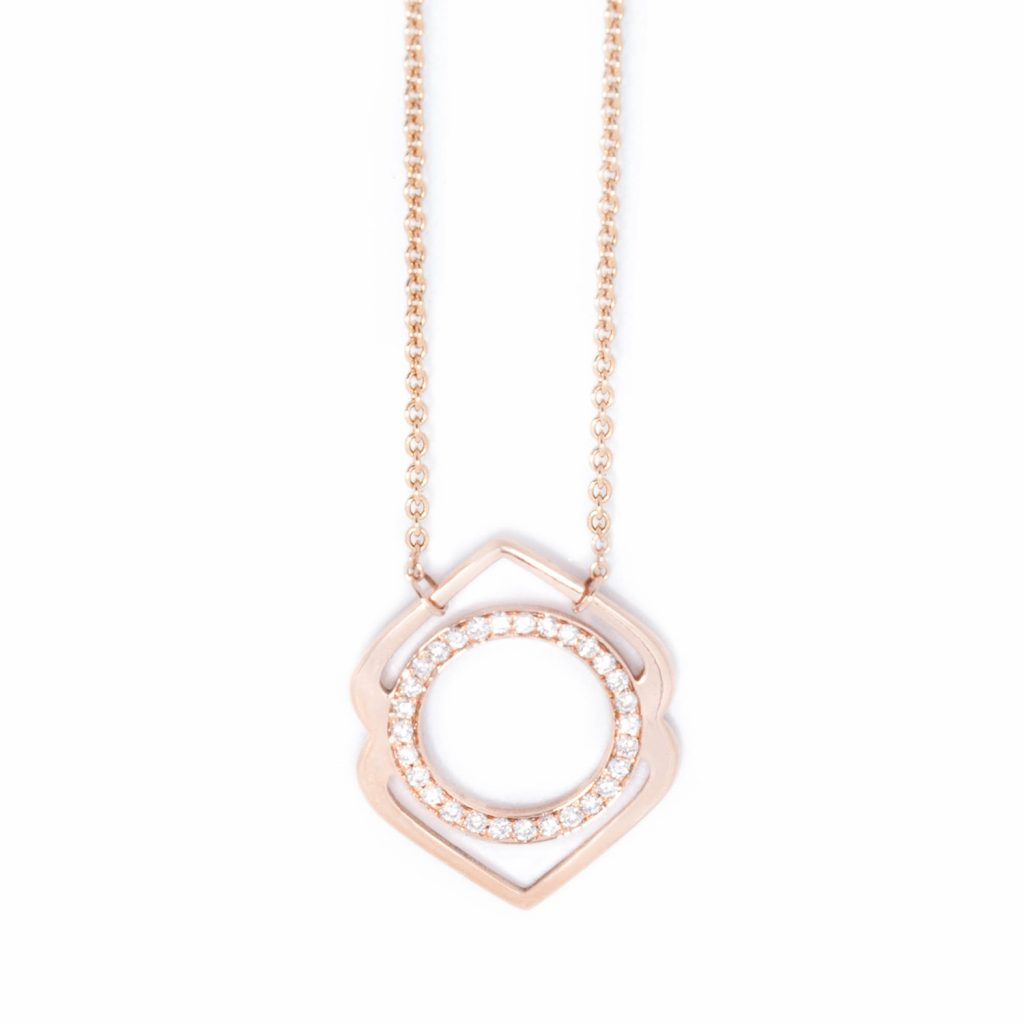 Ajna Paved Diamonds Necklace by tinyOm