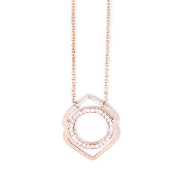 Ajna Paved Diamonds Necklace by tinyOm