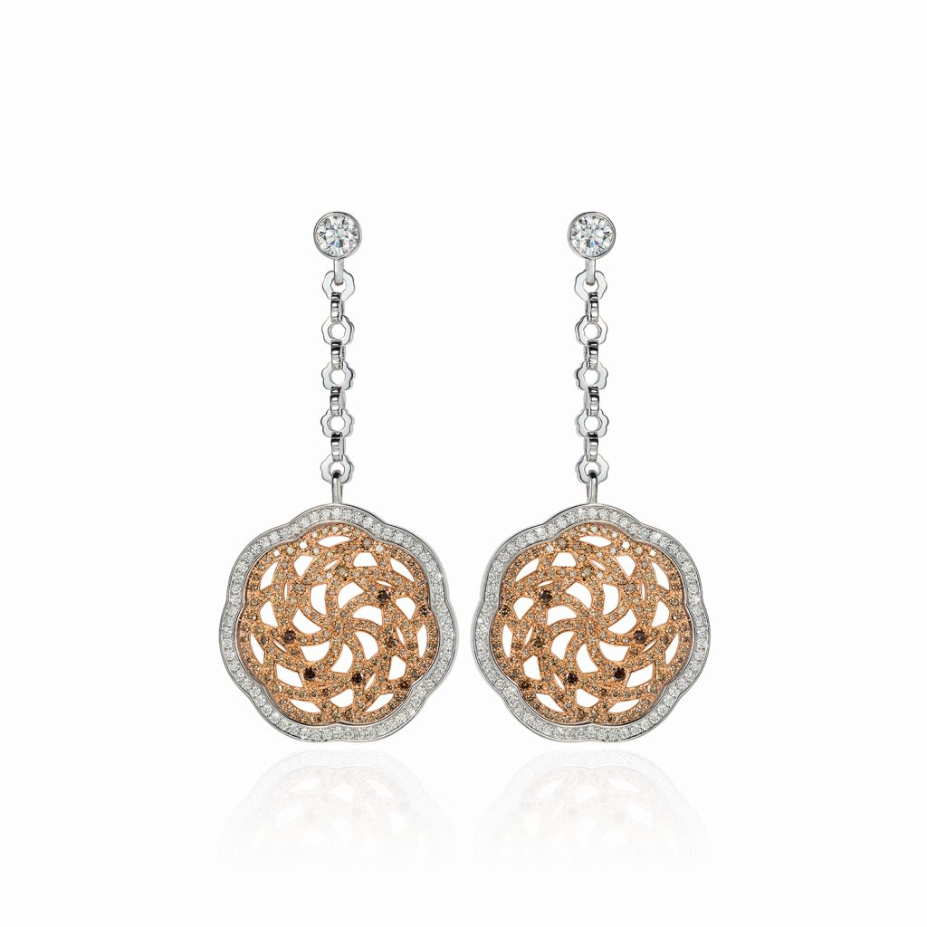 Sunrise Earrings by Julien Riad Sahyoun