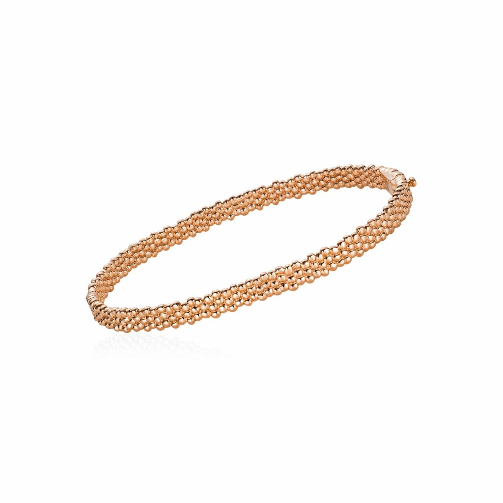 Skinny Bracelet in Rose Gold by Julien Riad Sahyoun