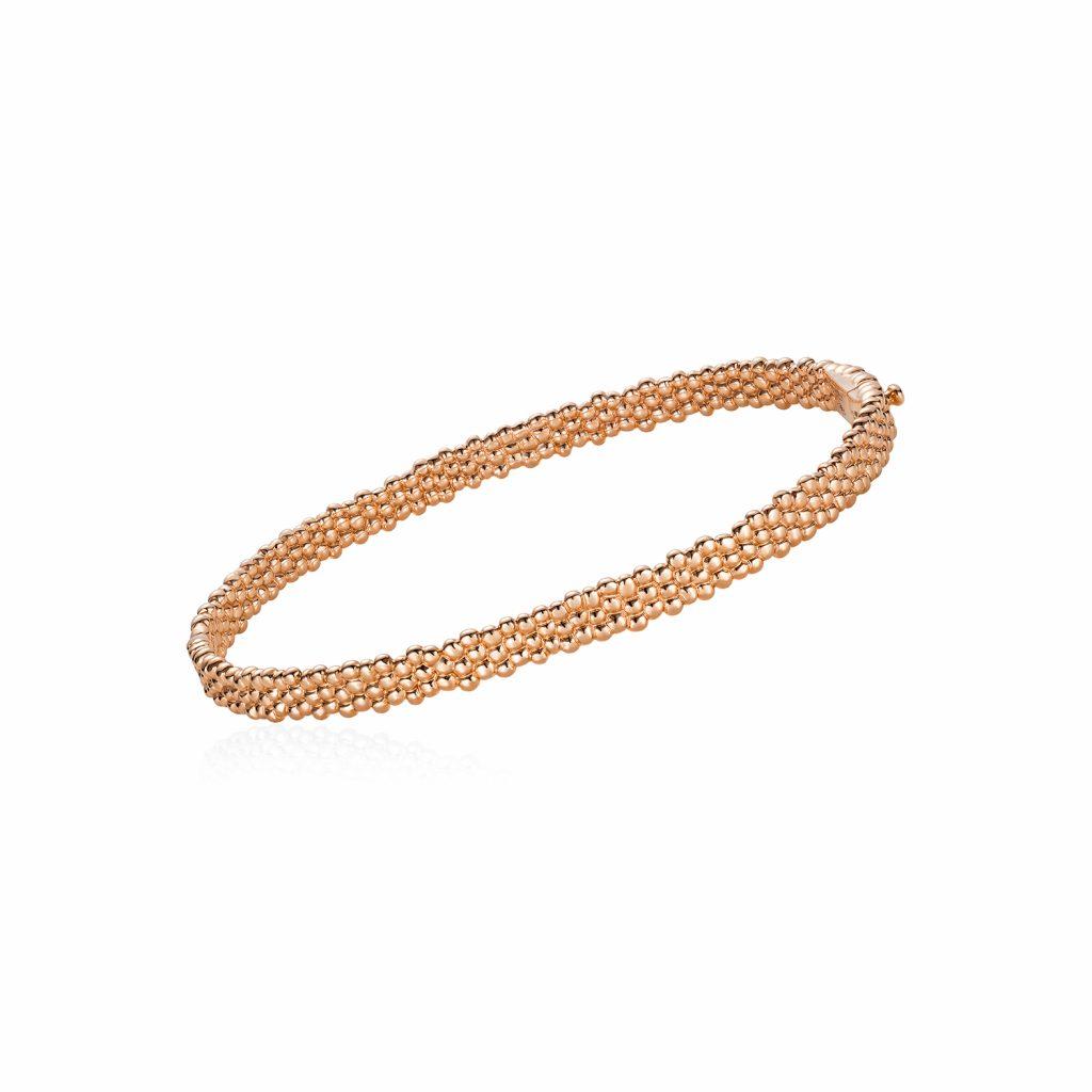 Skinny Bracelet in Rose Gold by Julien Riad Sahyoun