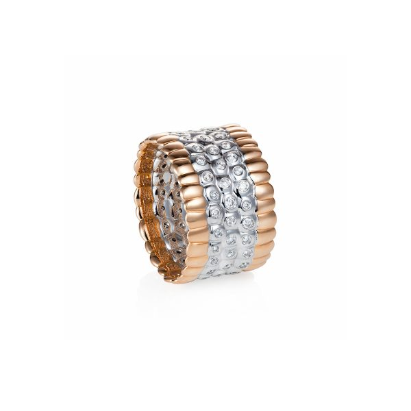 Dusha Diamond Ring by Julien Riad Sahyoun