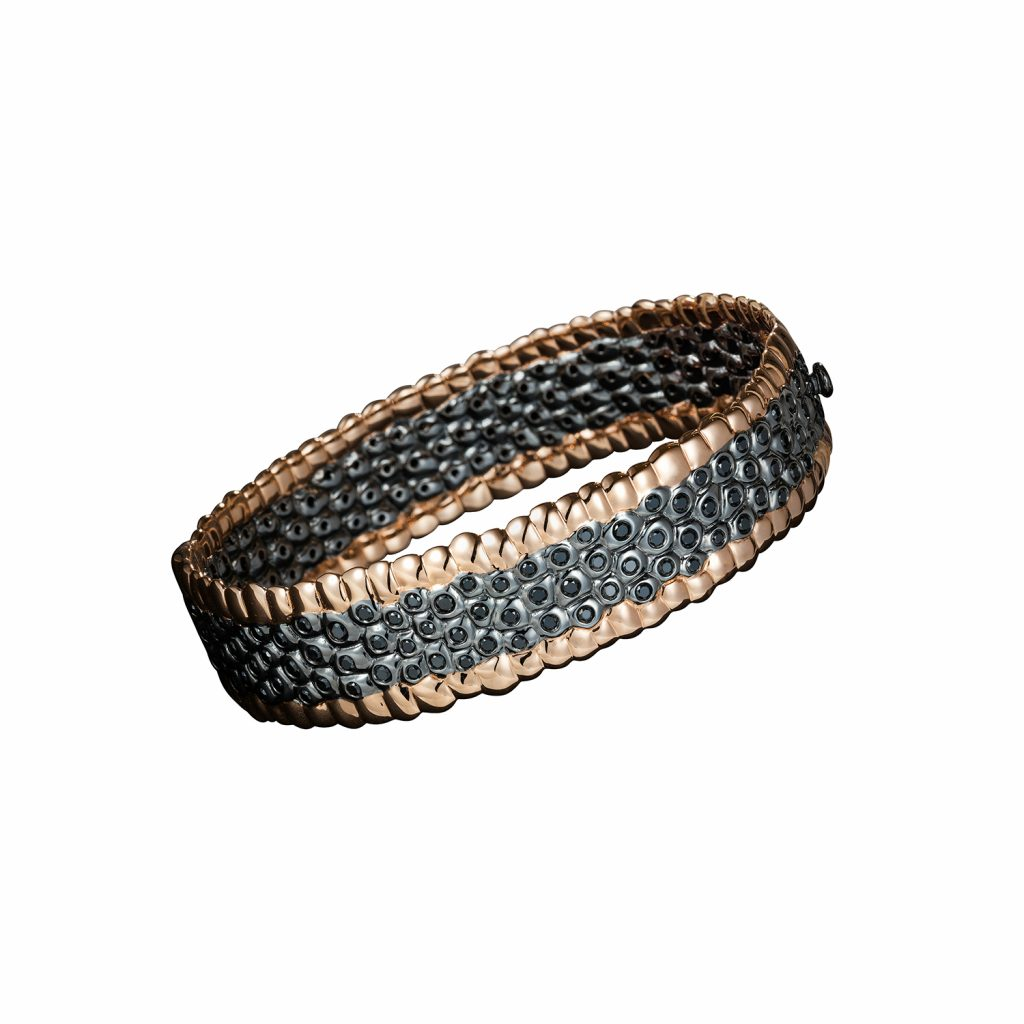 Edgy Closed Bracelet by Julien Riad Sahyoun
