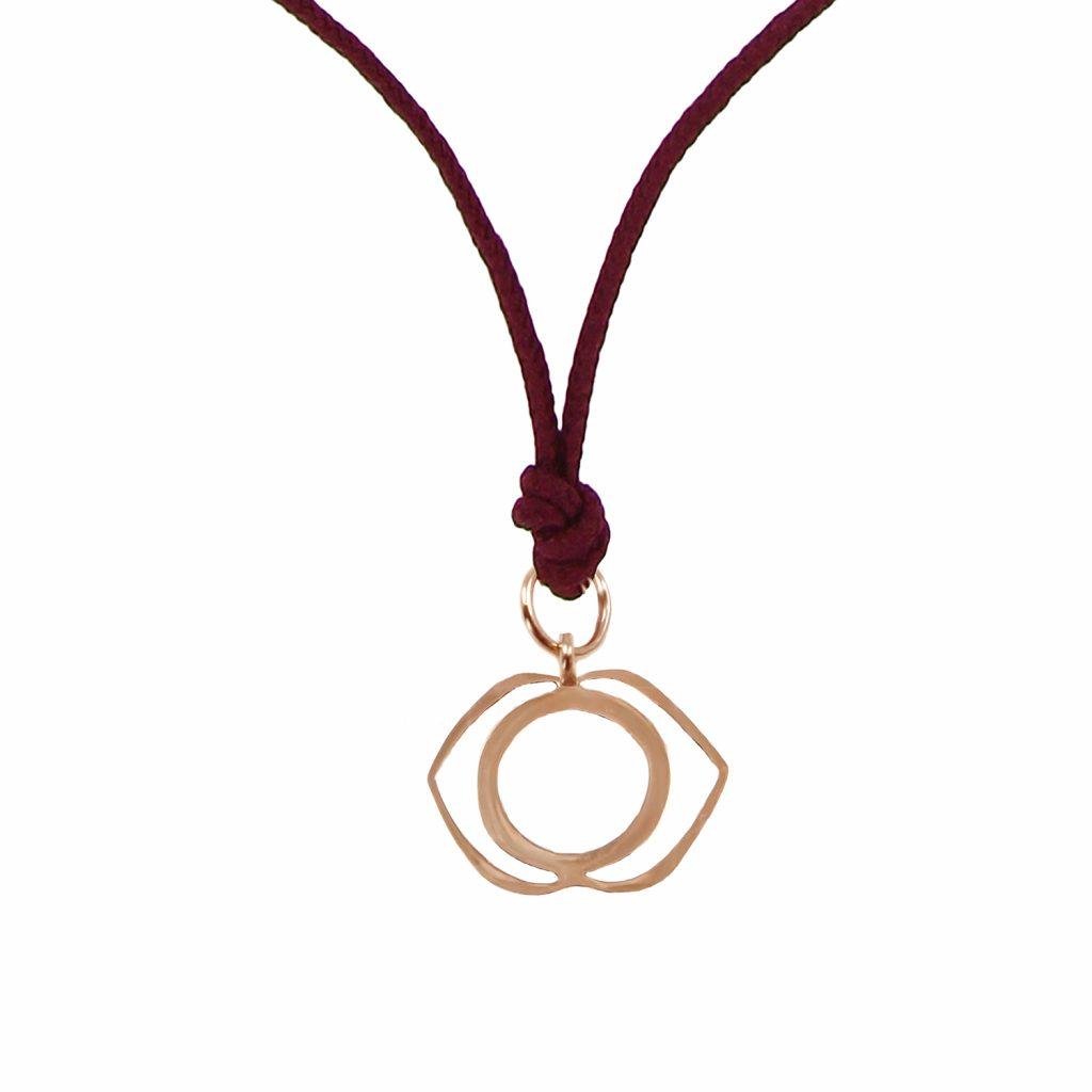 Chakra Pendant (Ajna) by tinyOm