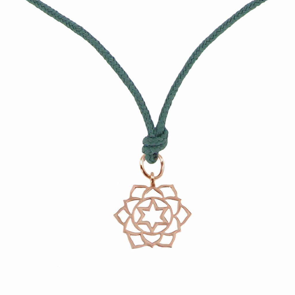 Chakra Pendant (Anahata) by tinyOm