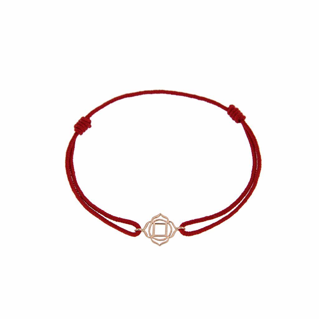 Chakra Bracelet (Muladhara) by tinyOm