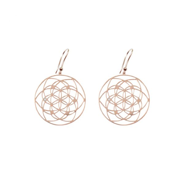 Flower of Life Earrings by tinyOm