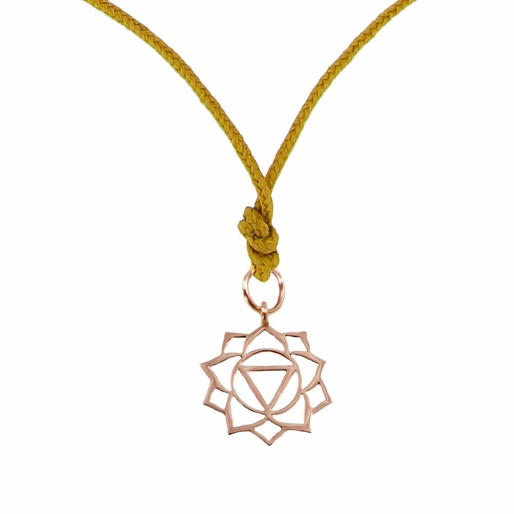 Chakra Pendant (Manipura) by tinyOm