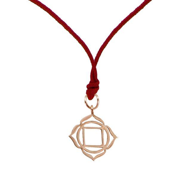 Chakra Pendant (Muladhara) by tinyOm
