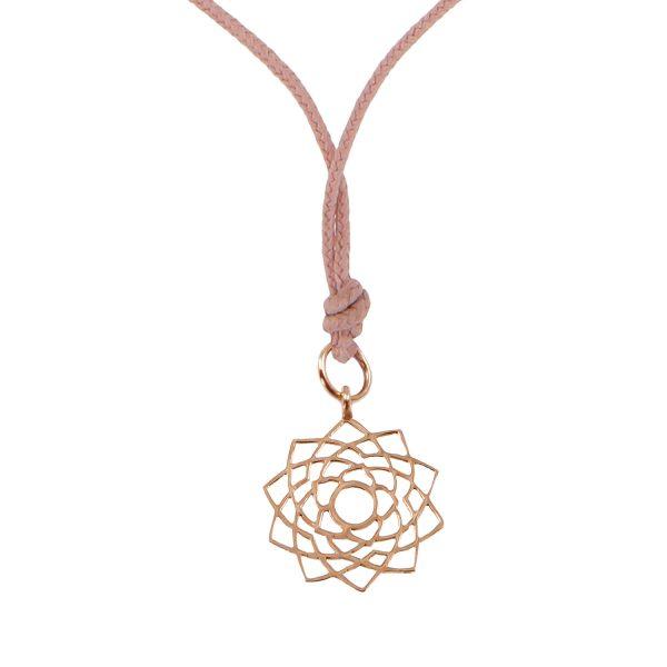 Chakra Pendant (Sahasrara) by tinyOm