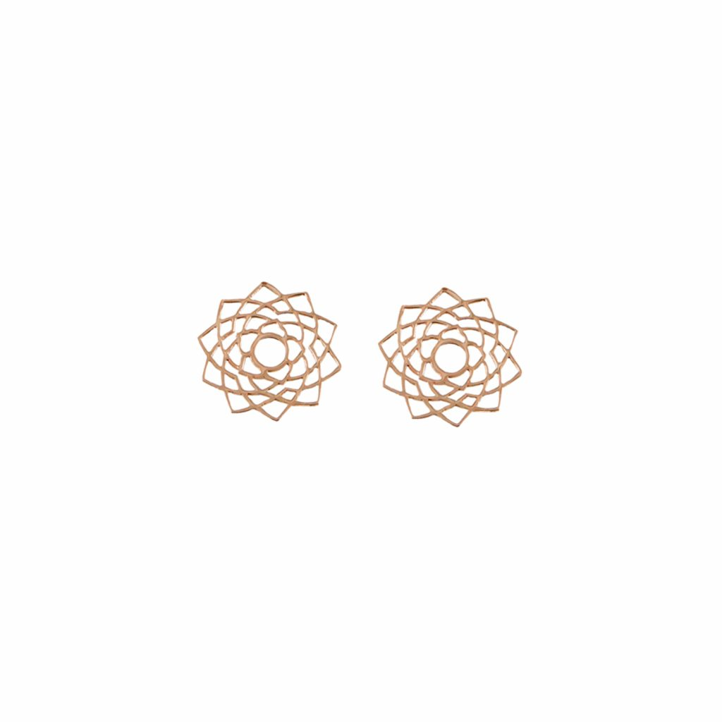 Sahasrara Stud Earrings by tinyOm