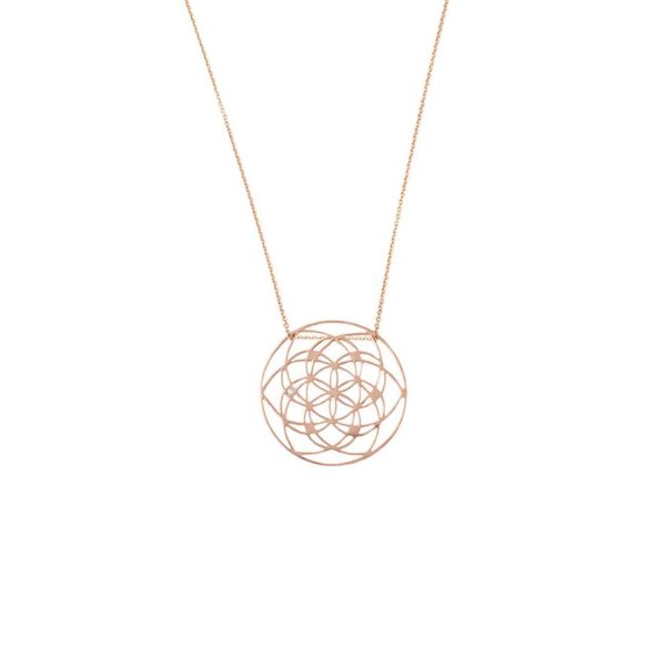 Flower of Life Necklace by tinyOm