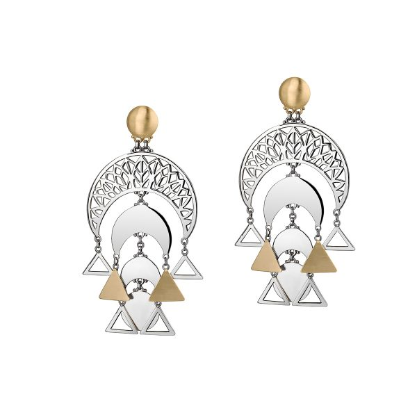 Palm Leaf Earrings by Azza Fahmy