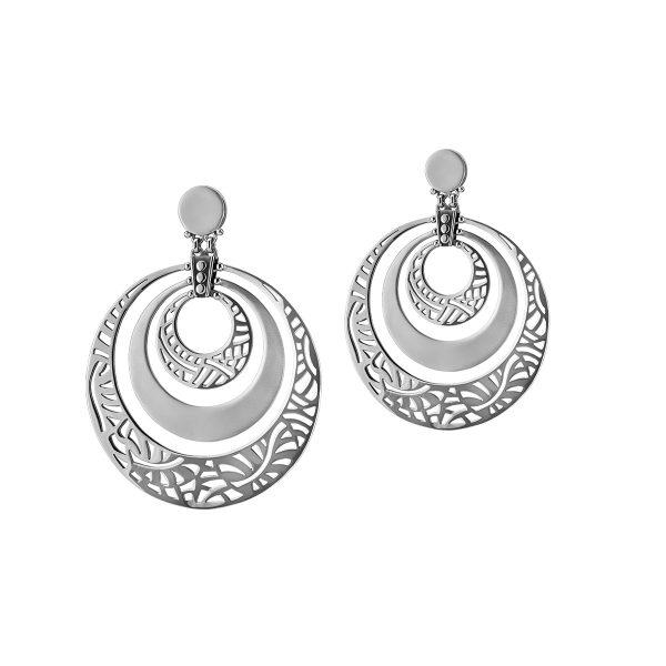 Layered Hoop Earrings by Azza Fahmy