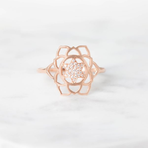 Anahata Paved Diamonds Ring by tinyOm