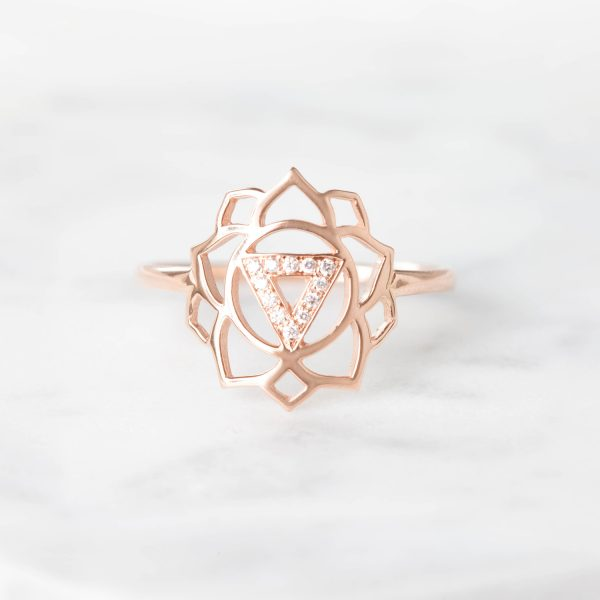 Manipura Paved Diamonds Ring by tinyOm