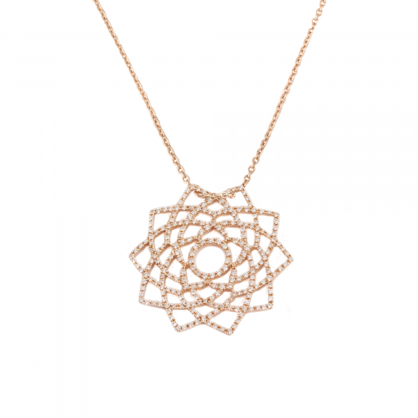 Sahasrara Diamond Necklace by tinyOm