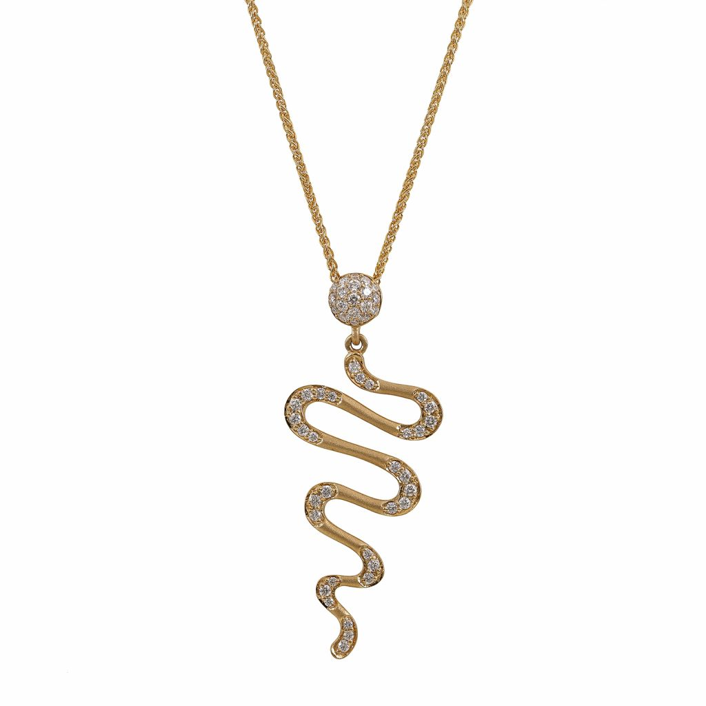 Harmonic Drop Necklace by Sandy Leong