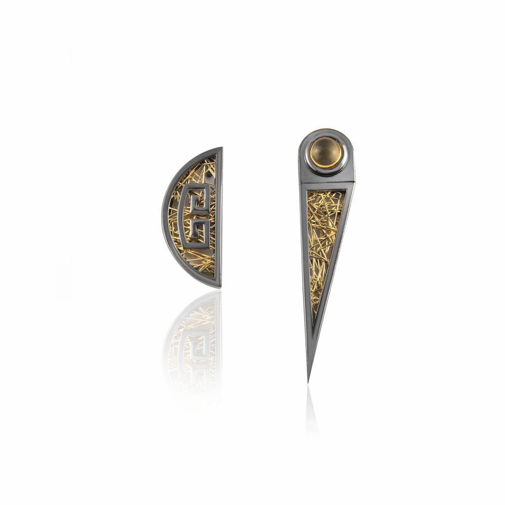 Zenais Earrings by Anastazio