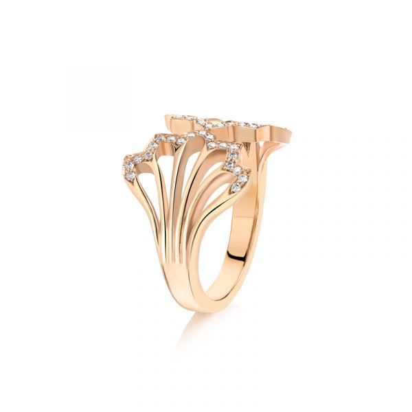 Five Feather Ring by Flora Bhattachary