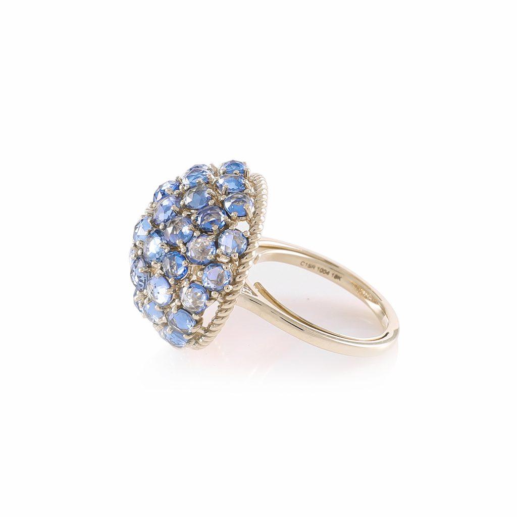 Ring Zero 1 – Sapphires by IVAR by Ritika Ravi