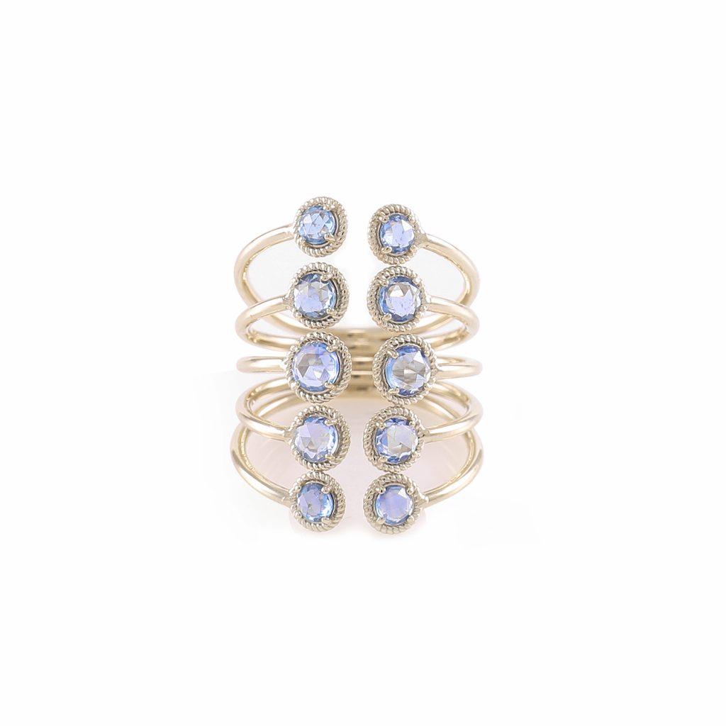 Ring Zero 2 – Sapphires by IVAR by Ritika Ravi