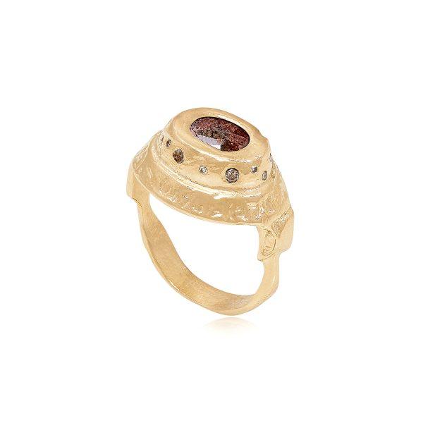 XVIII Ring by Ellis Mhairi Cameron