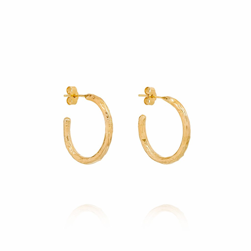 XXVI Hoop Earrings by Ellis Mhairi Cameron