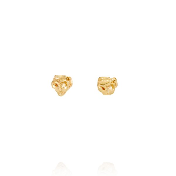XXI Large Stud Earrings by Ellis Mhairi Cameron
