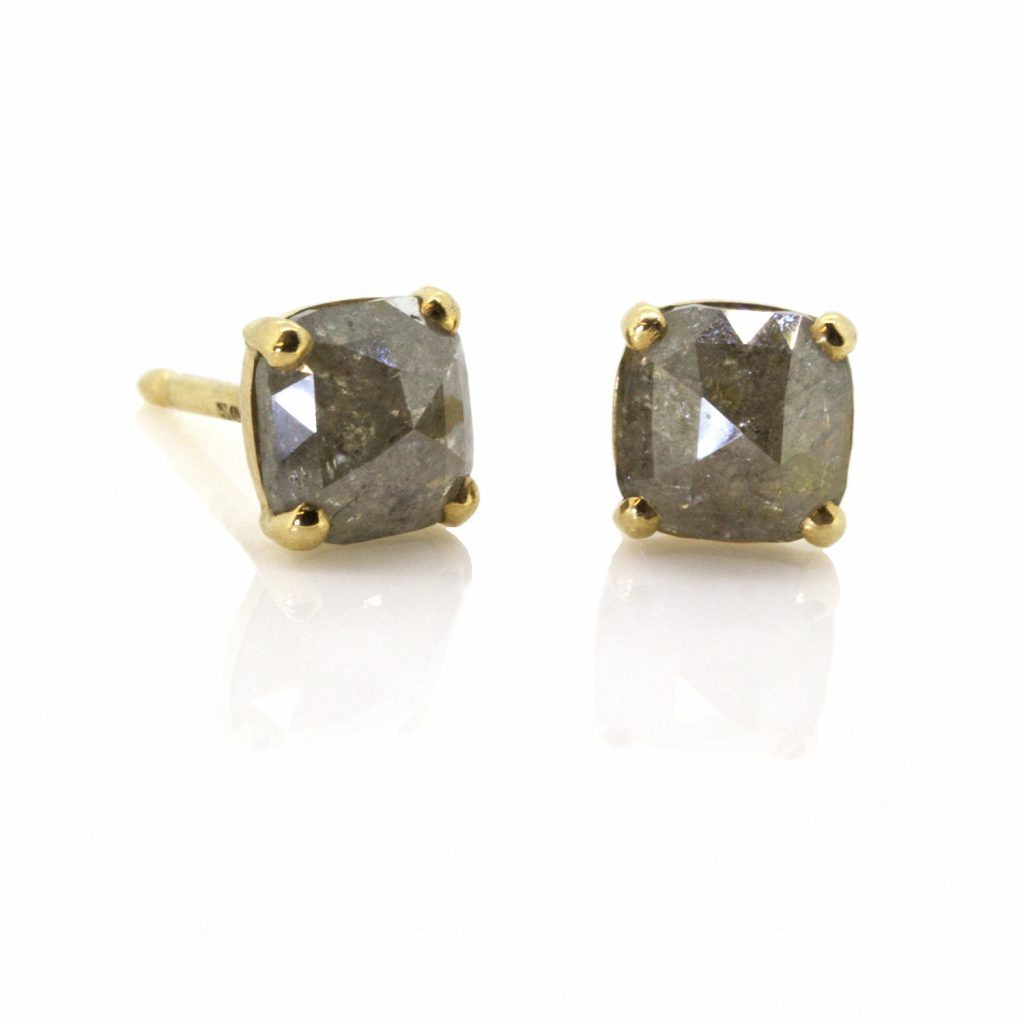 Diamond Claw Studs by Sorrel Bay