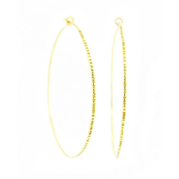 Large Gold Hoops by Sorrel Bay