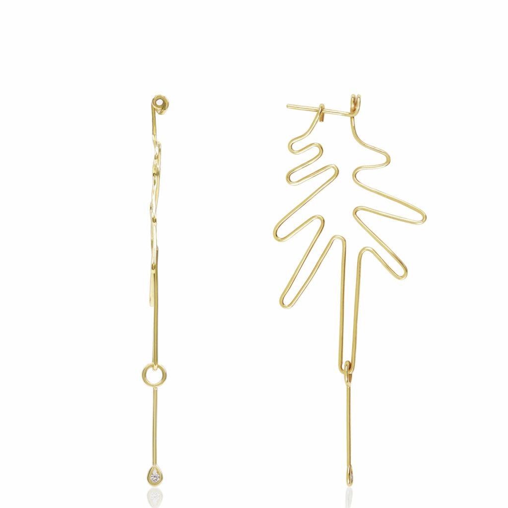 Wired Earrings by Origin 31