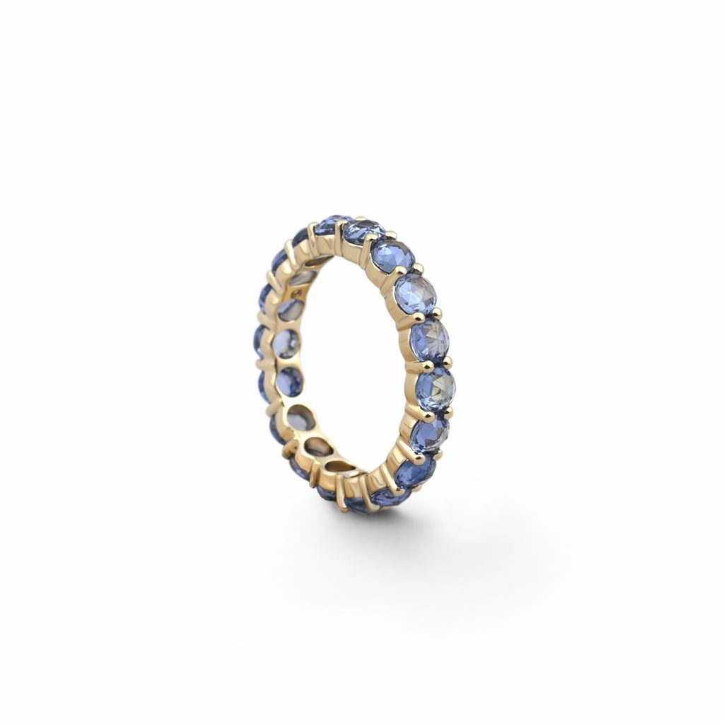 Ring Zero 5 (Sapphire) by IVAR by Ritika Ravi