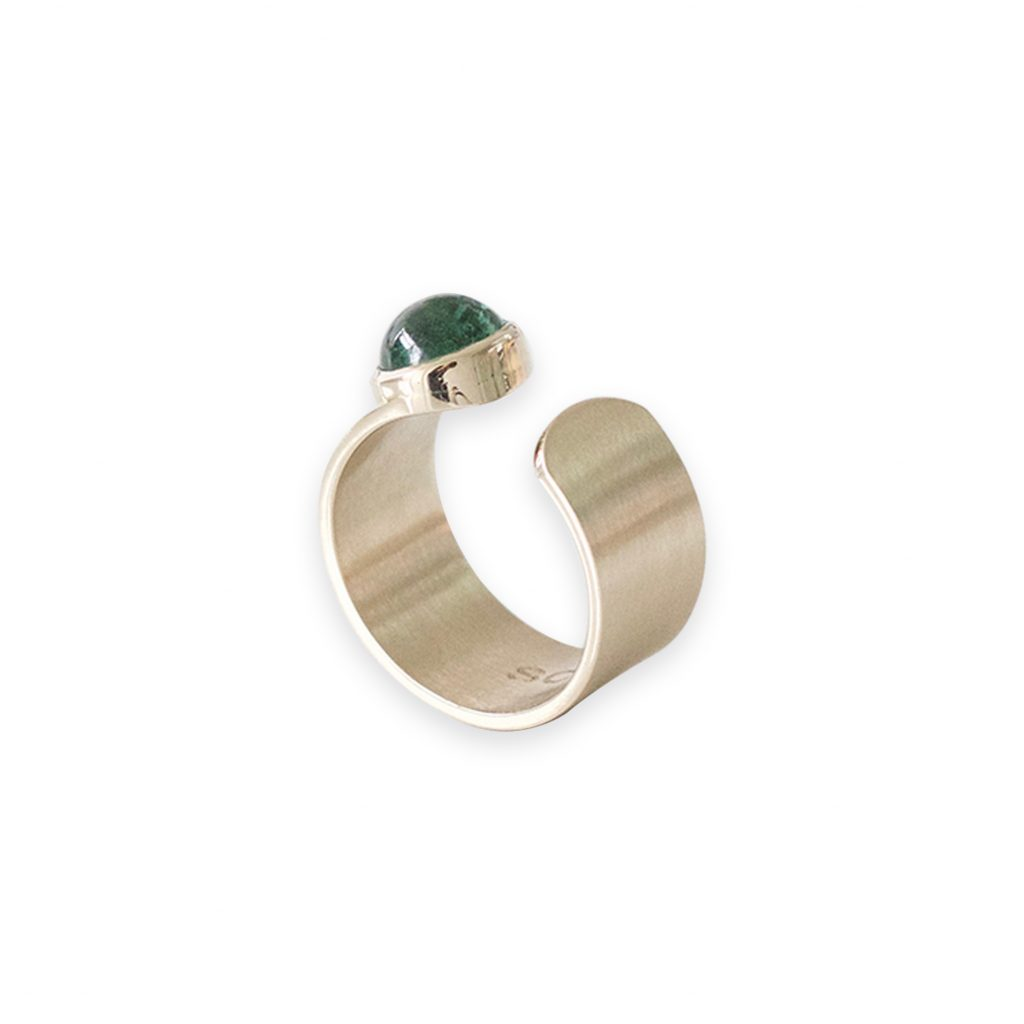 Ania 18k Gold with Tourmaline by Stephanie Cachard