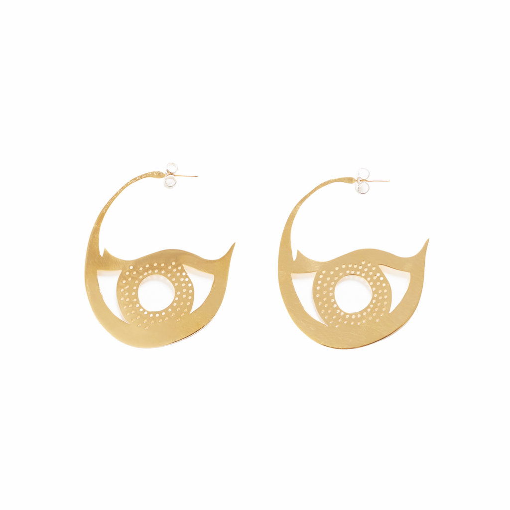 Bird Eye Earrings by Kalmar