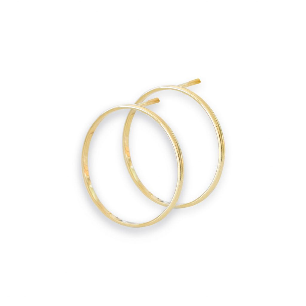 Celeste Earrings 18k Gold by Stephanie Cachard