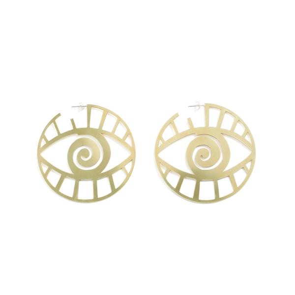 Eye Earrings by Kalmar