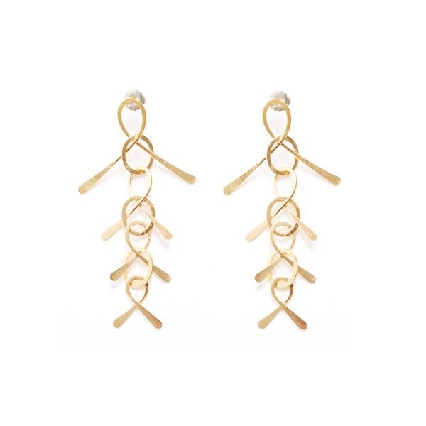 Feather Earrings by Kalmar