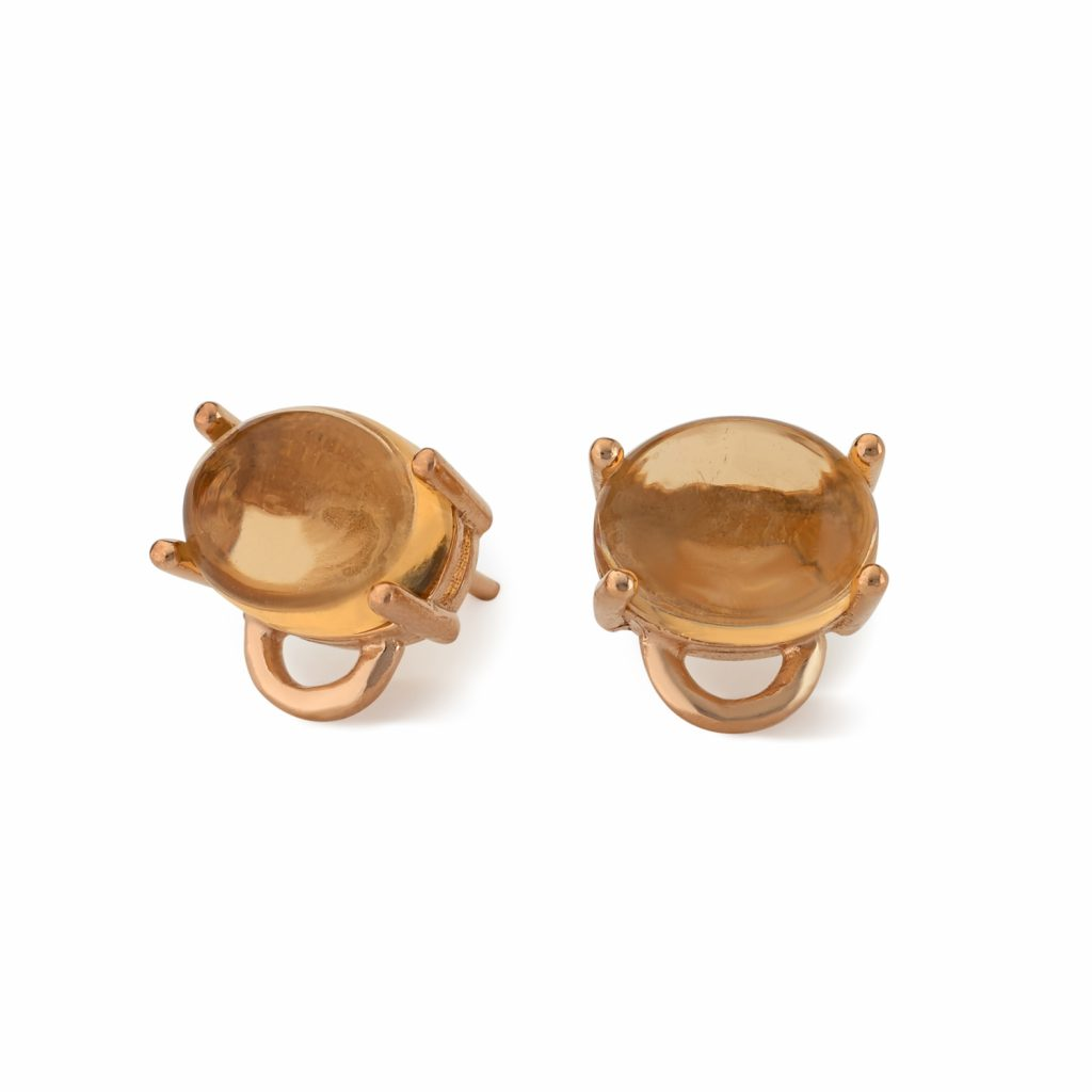 Marmaris Earrings – Rose Gold by Maviada