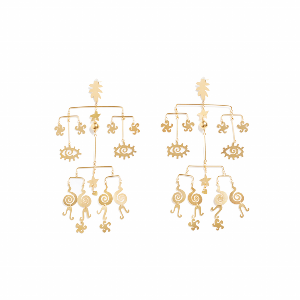 Mobile Earrings by Kalmar