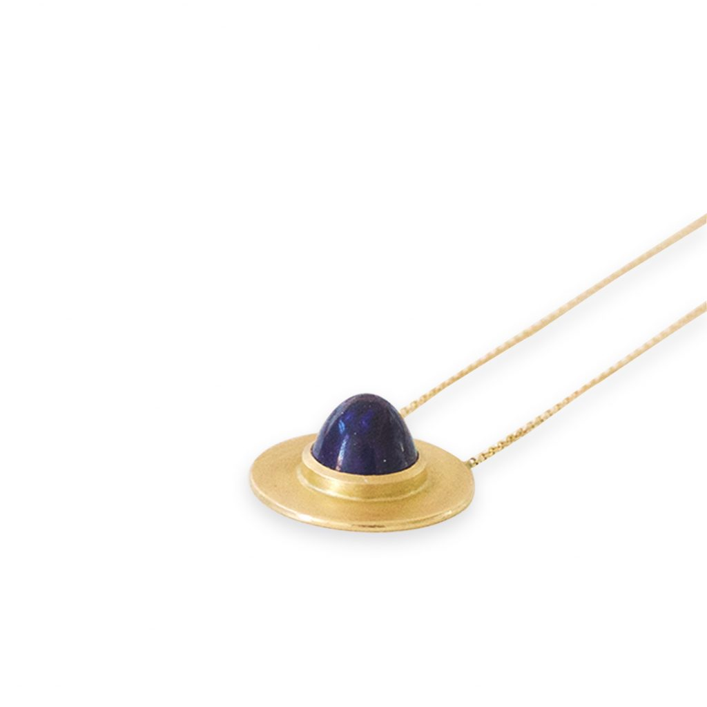 Eli Necklace with Lapis by Stephanie Cachard