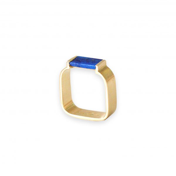 Polly 18k Gold with Lapis by Stephanie Cachard