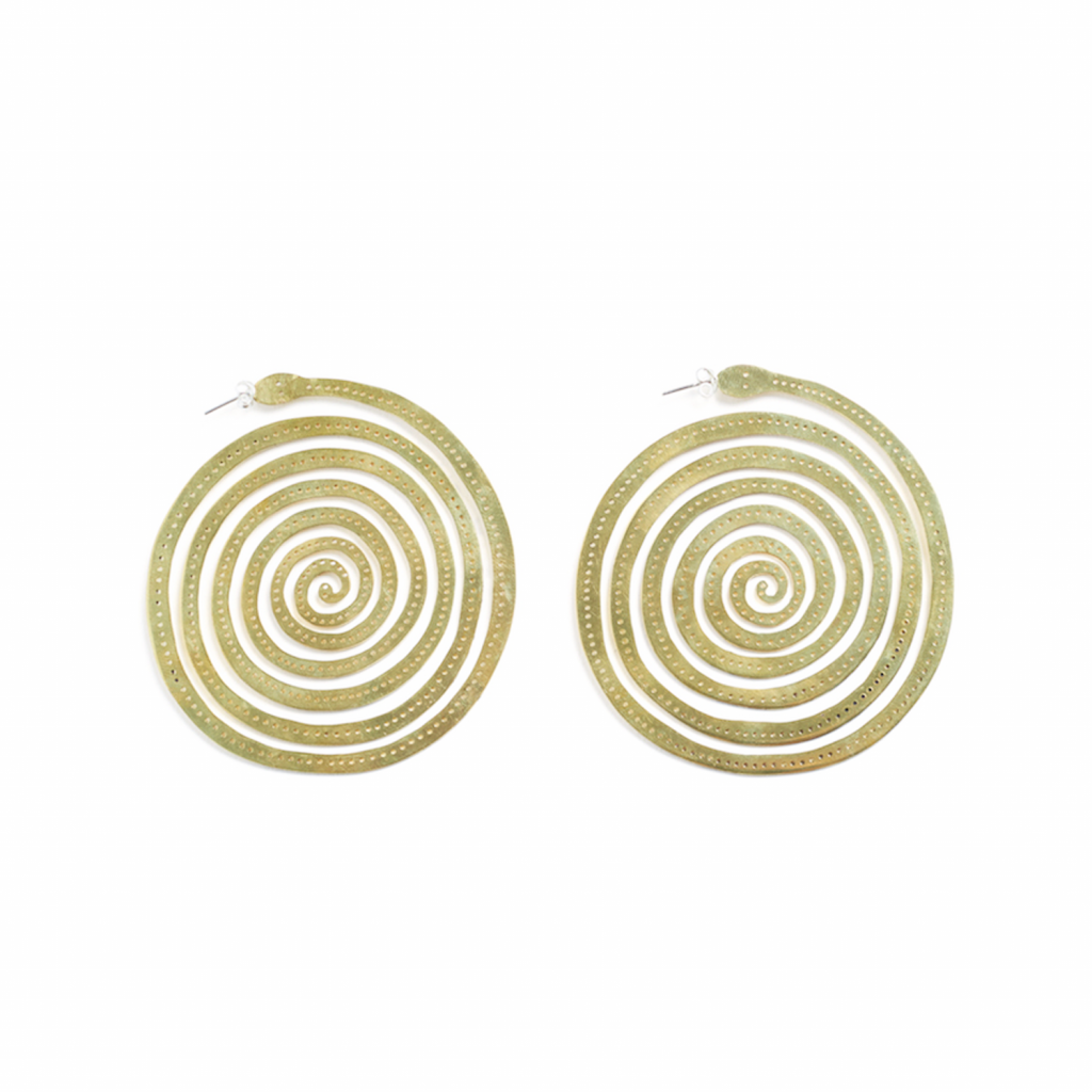 Round Earrings by Kalmar