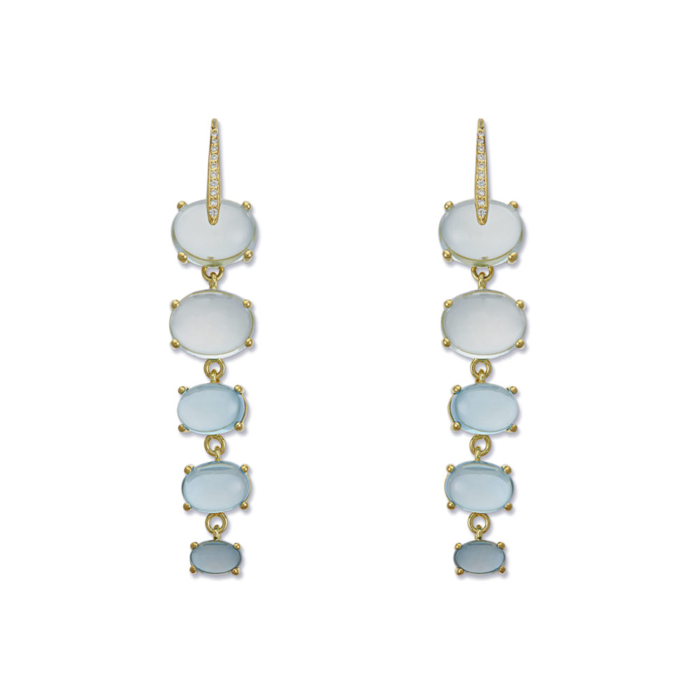 Sardinia Diamond Drops Earrings by Maviada