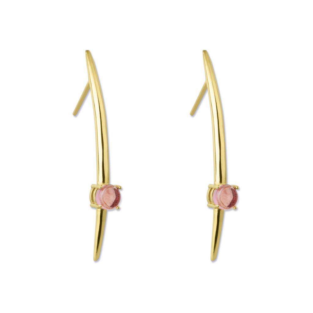 Tusk Earrings by Maviada