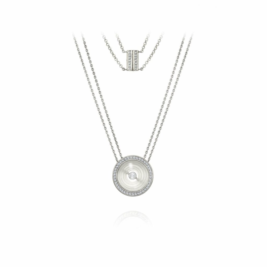 Mandala of Time Necklace by Rose Carvalho